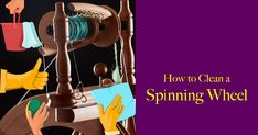 Did you miss your spring cleaning this year? It's not too late to get your clean on. The longer days of summer are perfect to clean a spinning wheel and other gear, a day I devote to my spindles and wheels. After all, if I expect them to be with me into the future, I need to take care of them now.