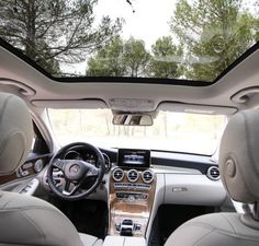 Panoramic sunroof | 2015 Mercedes Benz C-Class
