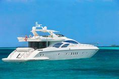 LVMH's Cheval Blanc Randheli resort gets a 30 meter Azimut luxury yacht