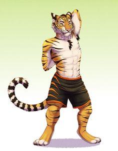 Yiff коммикс тигр лев