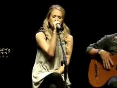 """Carrie Underwood - Heart's """"Alone"""" (live @ fanclub party in Nashville 2007)"""
