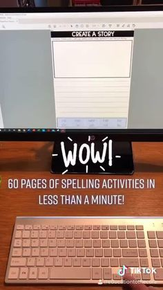 ⌚ I'm always looking for time-savers...And the NO PREP Editable Spelling Activities for ANY List of Words is definitely a time saver! 😲 I can create differentiated lists for different students with over 60 activities at my fingertips after typing the list ONCE! Save yourself some prep time and get yours now! Spelling Lists, Spelling Activities, Vocabulary Activities, Spelling Words, Silly Sentences, Synonyms And Antonyms, Spelling Patterns, 2nd Grade Teacher