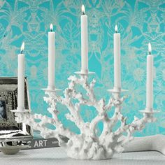 Coral Candelabra, this is really pretty.
