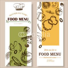 food menu restaurant cafe  brochure. drawing template.