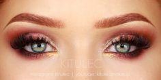 kitulec beauty blog: TUTORIAL: New Year's Eve Look - Makijaż Sylwestrowy