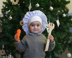 come fare un cappello da cuoco per bambini