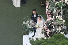 689caf2da895447_size1361_w1024_h683 (1) Song Hye Kyo Style, Songsong Couple, Song Joong Ki, Korean Actors, Formal Dresses, Wedding Dresses, Celebs, Couples, Lace