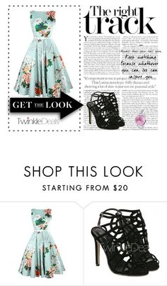 """""""Twinkle deals 2"""" by eddy-smilee ❤ liked on Polyvore featuring vintage"""