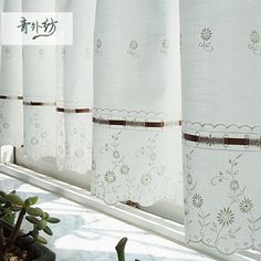 Risultati immagini per cortinados bordados