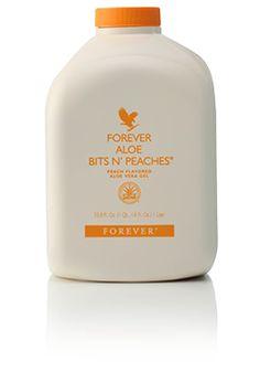 Forever Aloe Bits n' Peaches - http://natuerlicher-lebensstil.de/kokos-pfirsich-smoothie/ - Pfirsich - Smoothie - Kokosnuss - grüner Tee