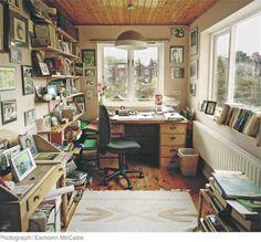Writer's rooms: Margaret Forster  http://www.guardian.co.uk/books/2008/apr/18/writers.rooms.margaret.forster#