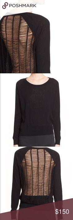 FINAL PRICE IRO open knit back sweater NWT IRO Sweaters Crew & Scoop Necks