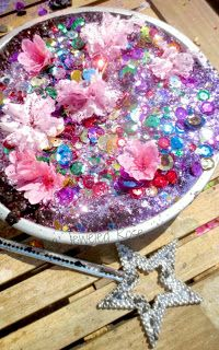 Princess Mud Recipe-  Don't make mud pies- make PRINCESS mud pies!! (A girl's mud pie dream )