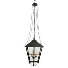 Iron lantern by Hacienda Lights