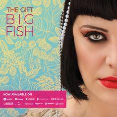 """Traspresentar'Love without violins'y'Clinic Hope'llega'Big Fish'el tercer el tercer sencillo adelanto de""""Altar"""", el nuevo álbum de TheGift."""