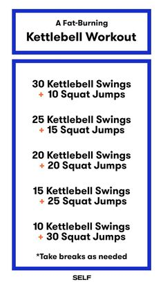 Yoga Fitness Plan - This Kettlebell Workout Burns Fat With Only 2 Moves - Get Your Sexiest.…Without crunches, cardio, or ever setting foot in a gym! Fitness Workouts, Exercise Fitness, Fitness Herausforderungen, Health And Fitness Tips, At Home Workouts, Fitness Motivation, Health Tips, Physical Fitness, Fitness Plan