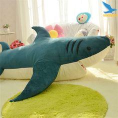 Giant Stuffed Shark Sleeping Bag