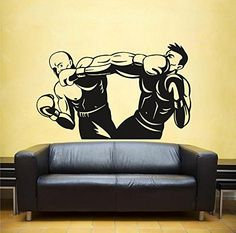 Ik1366 Wall Decal Sticker Kick Boxing Ring Gloves Tournament Living Room Gym StickersForLife http://www.amazon.com/dp/B00Z38W4IA/ref=cm_sw_r_pi_dp_GDeDvb0Q1VB18