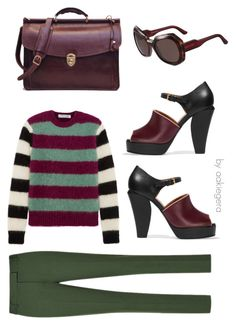 """""""Working"""" by aakiegera on Polyvore featuring мода, MaxMara и Marni"""
