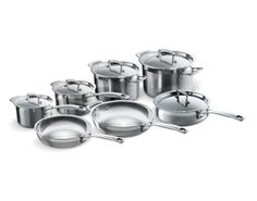 Tri-Ply Stainless Steel 12-Piece Set Le Creuset