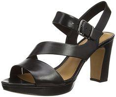 Clarks Jenness Soothe, Damen Slingback Pumps, Schwarz (Black Leather), 37 EU 40a2de5f2b