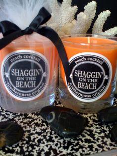 SHAGGIN' on the Beach Peach Cocktail Artisan Candle