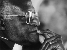 Bishop Desmond Tutu: he was a social rights activist in South Africa, and a bishop or lesotho and johannesburg, as well as the archbishop of Cape Town.