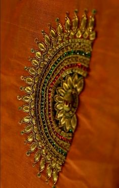 Saree Blouse Neck Designs, Bridal Blouse Designs, Embroidery Works, Hand Embroidery Designs, Hand Work Blouse Design, Designer Blouse Patterns, Hand Designs, Zardosi Work, Order Contacts