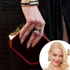 Jaime King's manicure, Critics' Choice