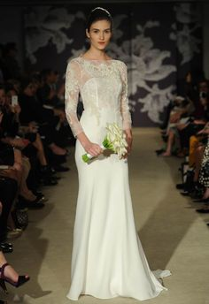 Carolina Herrera Spring 2015 | MCV Photo | The Knot Blog