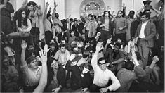 Students in Hamilton Hall at Columbia University on April That night, African-American students asked white students to leave and seize other buildings, so they could keep a separate protest. Photo credit: Don Hogan Charles / The New York Times / Redux Historical Romance Novels, African American Studies, Joe Cocker, Associate Professor, Girl Inspiration, Martin Luther King, Life Magazine, Woodstock, Columbia
