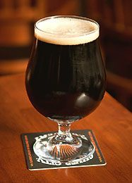 Good Home Brew Porter Beer Made From Malt Extract #homebrewingrecipes