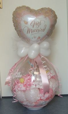 #Just #Married #Verpackungs-Ballon