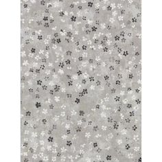 Brewster Cosima Grey Miniature Floral Grey Paper Strippable Roll (Covers 60.8 sq. ft.)