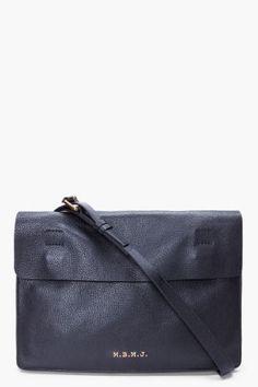 MARC BY MARC JACOBS Black Werdie Boy Portfolio Bag