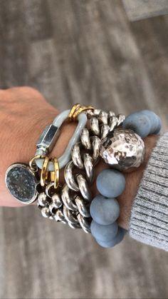 Bold Jewelry, Jewelry Trends, Beaded Jewelry, Jewelry Box, Jewelery, Silver Jewelry, Jewelry Accessories, Fashion Jewelry, Jewelry Design