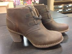 Clark's Carlita Lyon available at Tootsies Factory Shoe Market. Lyon, The Ordinary, Clarks, Biker, Fashion Shoes, Footwear, The Incredibles, Boots, Crotch Boots