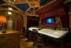 Cool recording studio