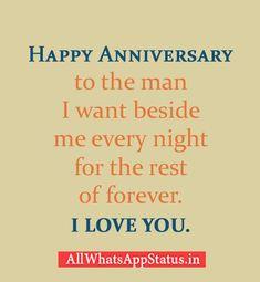 Wedding Anniversary Whatsapp Status Wishes For Husband