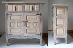 ▷ Muebles restaurados ◁ Pintados a mano - Lola Granado China Cabinet, Chalk Paint, Storage, House, Painting, Furniture, Villa, Home Decor, Halloween