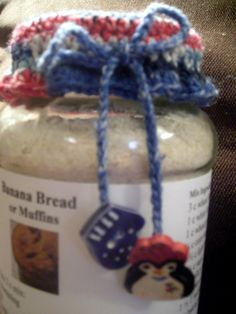Crochet tops for jar gifts