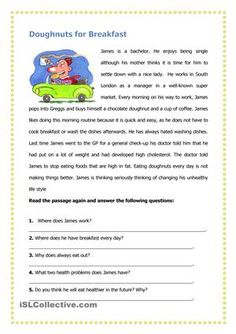 Learners are required to read the passage and then answer the learners are required to read the passage and then answer the questions that follow esl worksheets ibookread