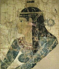 Nephthys from a Shroud  Egypt, Probably 2nd or 3rd century BC