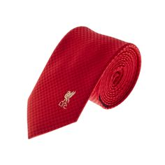 LFC Skinny Red Dogtooth Tie | Ties | Fashion | Accessories | Liverpool FC Official Store