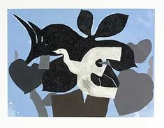 BRAQUE : oiseau-braque-gravure