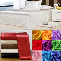 Find More Bedding Sets Information about Wholesale!100% Soft skin SATIN SILK BED SHEET PILLOWCASES WEDDING bedding set,sabanas bed linen silk bed sheet set,ropa de cama,High Quality sheet glasses,China bedding black and white Suppliers, Cheap bedding cotton from Oscar life store on Aliexpress.com