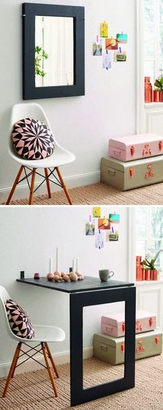 Smart idea for a small space. #Decorbyme @ForRent.com | Muebles y ...