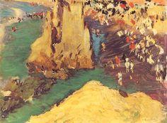 Playa de Bearritz. 1906