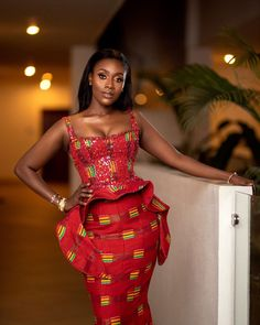 African Attire, African Wear, African Dress, African Style, Ankara Skirt, Ankara Gowns, Ghana Traditional Wedding, Latest African Fashion Dresses, Ankara Fashion