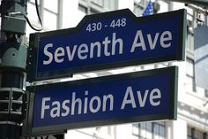 Fashion ave in nyc